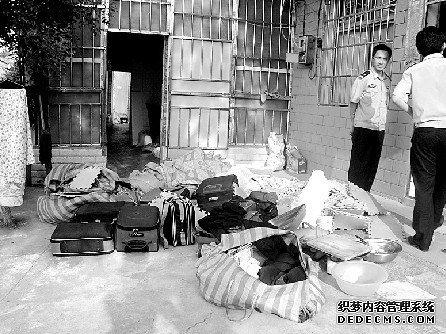 湖南省岳阳市一个组盘踞10个传销窝 执法人员
